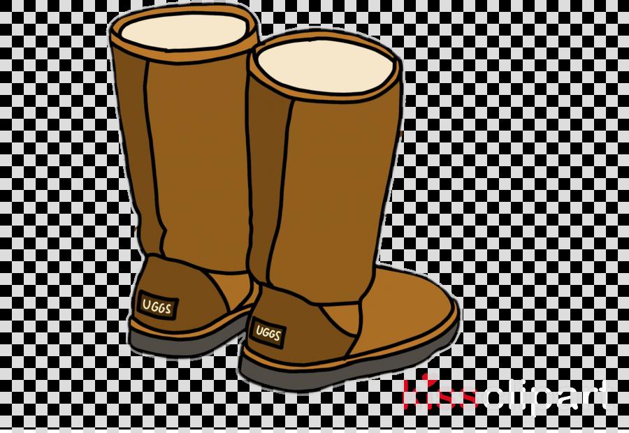 footwear shoe boot clip art tan clipart.