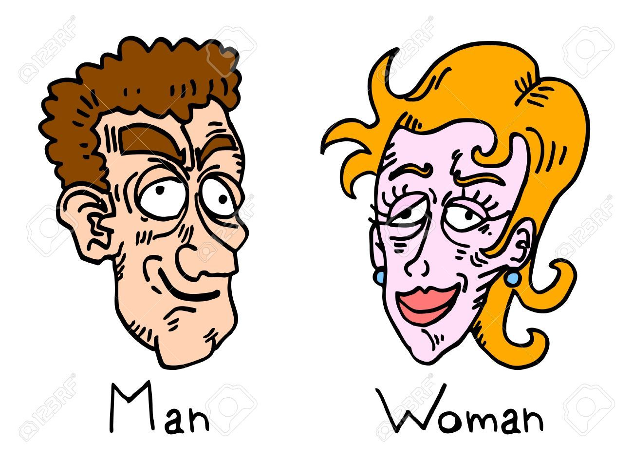 Ugly face clipart 5 » Clipart Portal.