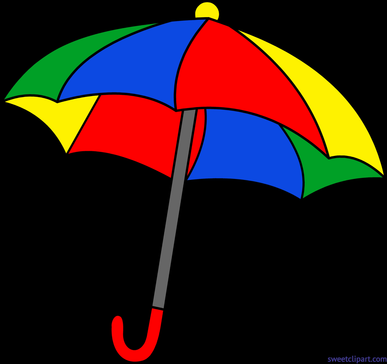 Clipart Images Of Umbrella.