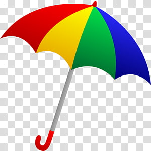 Cartoon Umbrellas transparent background PNG cliparts free.
