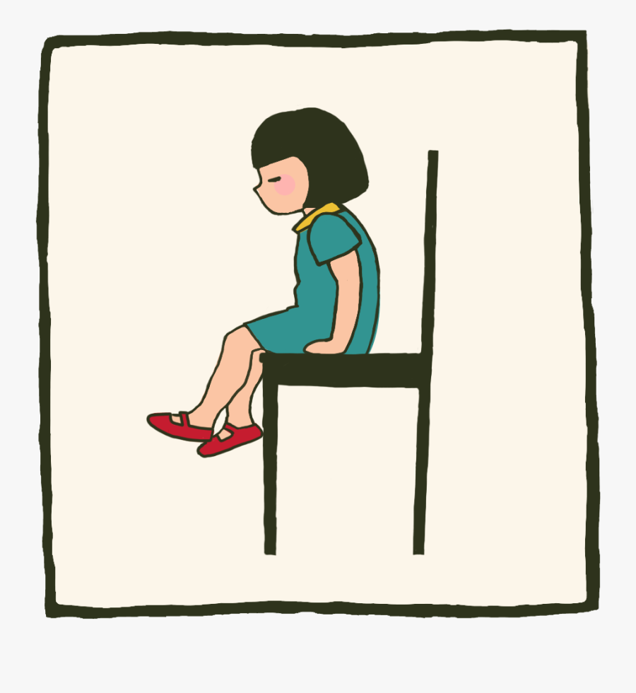Sitting On Uncomfortable Chair Cartoon , Free Transparent.