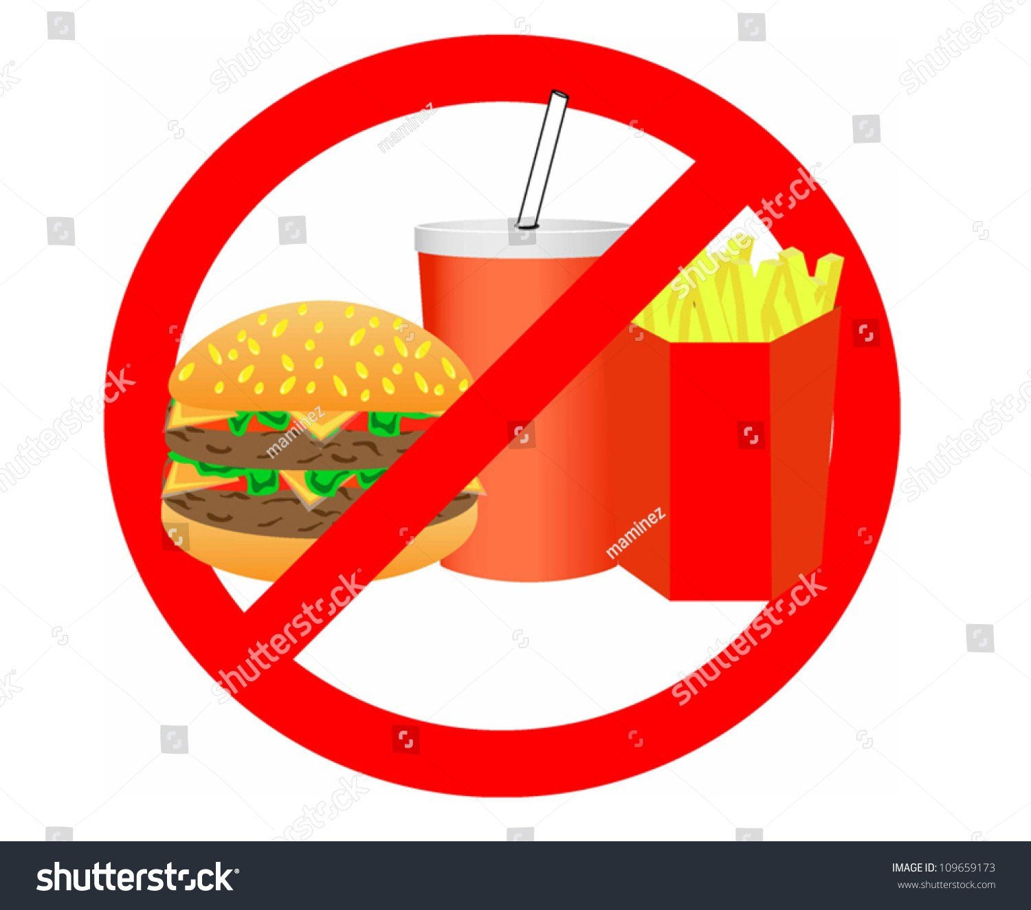 No unhealthy food clipart 4 » Clipart Portal.
