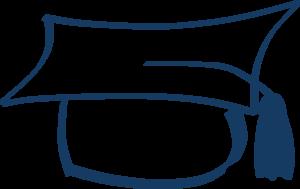 Uni Cap Dark Blue Clip Art at Clker.com.