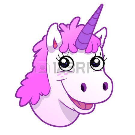 813 Unicorn Head Stock Vector Illustration And Royalty Free.