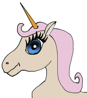 Unicorn Clip Art Free Vector In Encapsulated Postscript Image.