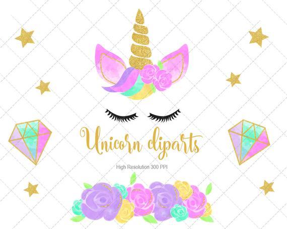Unicorn Watercolor Download, Unicorn clip art, Water color clipart unicorn  design, Unicorn cliparts.