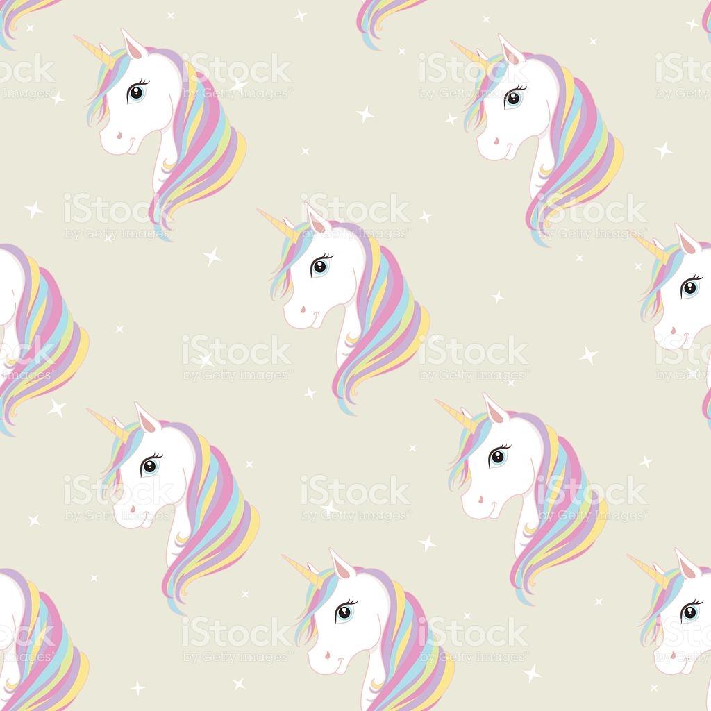 Unicorn Clipart Wallpaper.