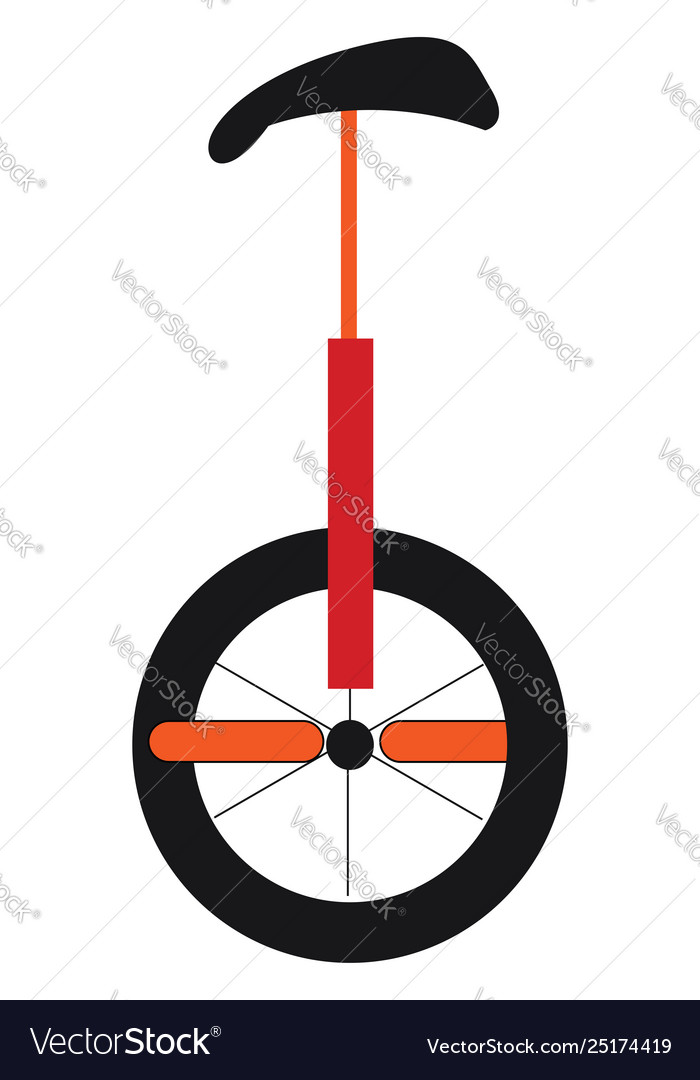 Clipart an unicycle or color.