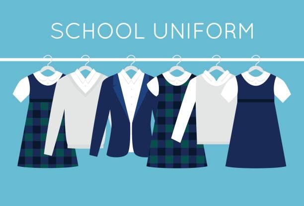 Best School Uniform Illustrations, Royalty.