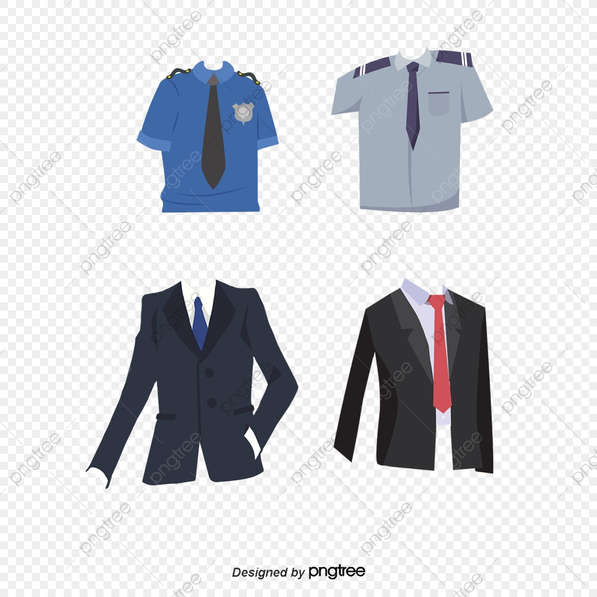 Various Clothing Uniform Passport, Passport Clipart, Military.