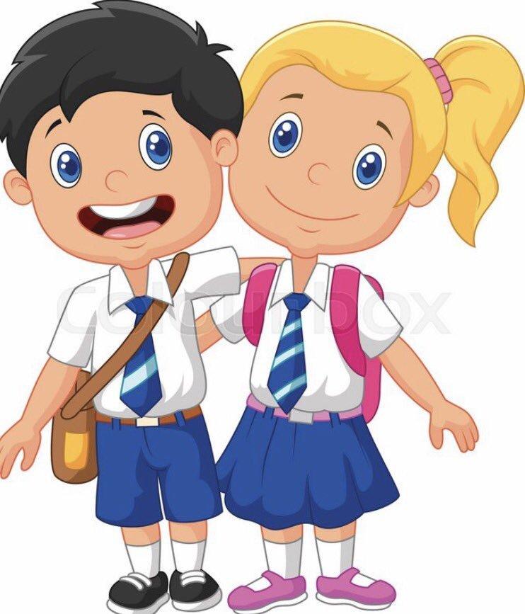 Wearing school uniform clipart 1 » Clipart Portal.