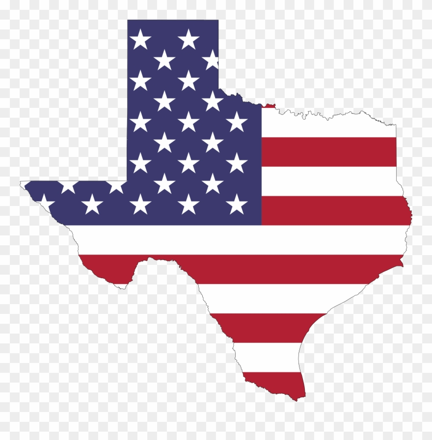 Map Of The Usa Flag Clipart Png.