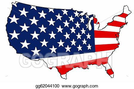 Free collection of United states clipart america's flag. Download.