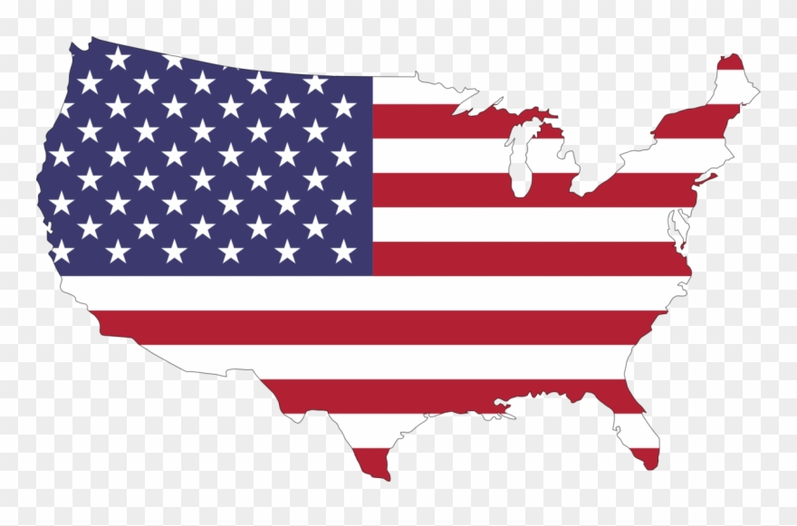 American Flag Country Vector Clipart.