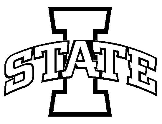 Iowa state university logo clipart.