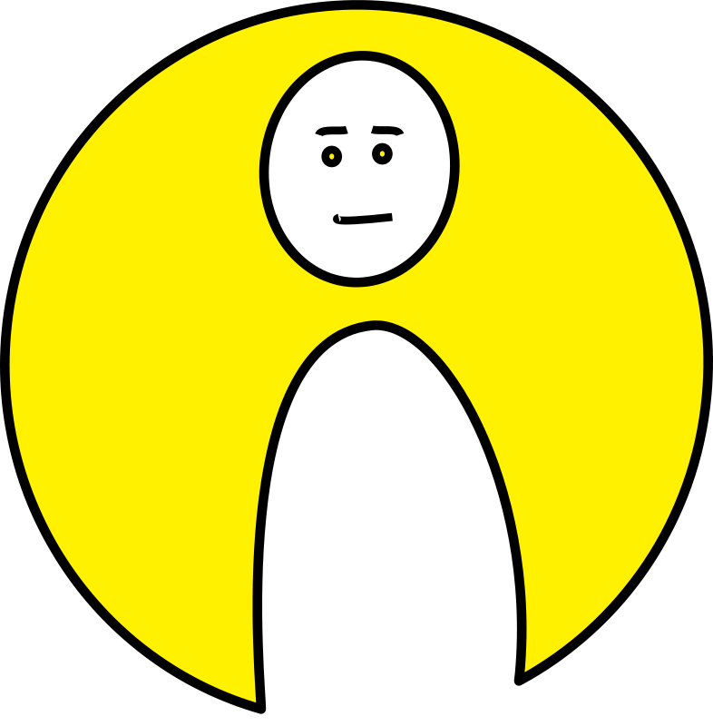 Free Clipart: Unsure mood.