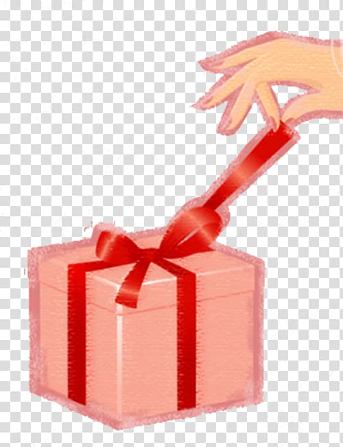 Gift , Untie gift box transparent background PNG clipart.