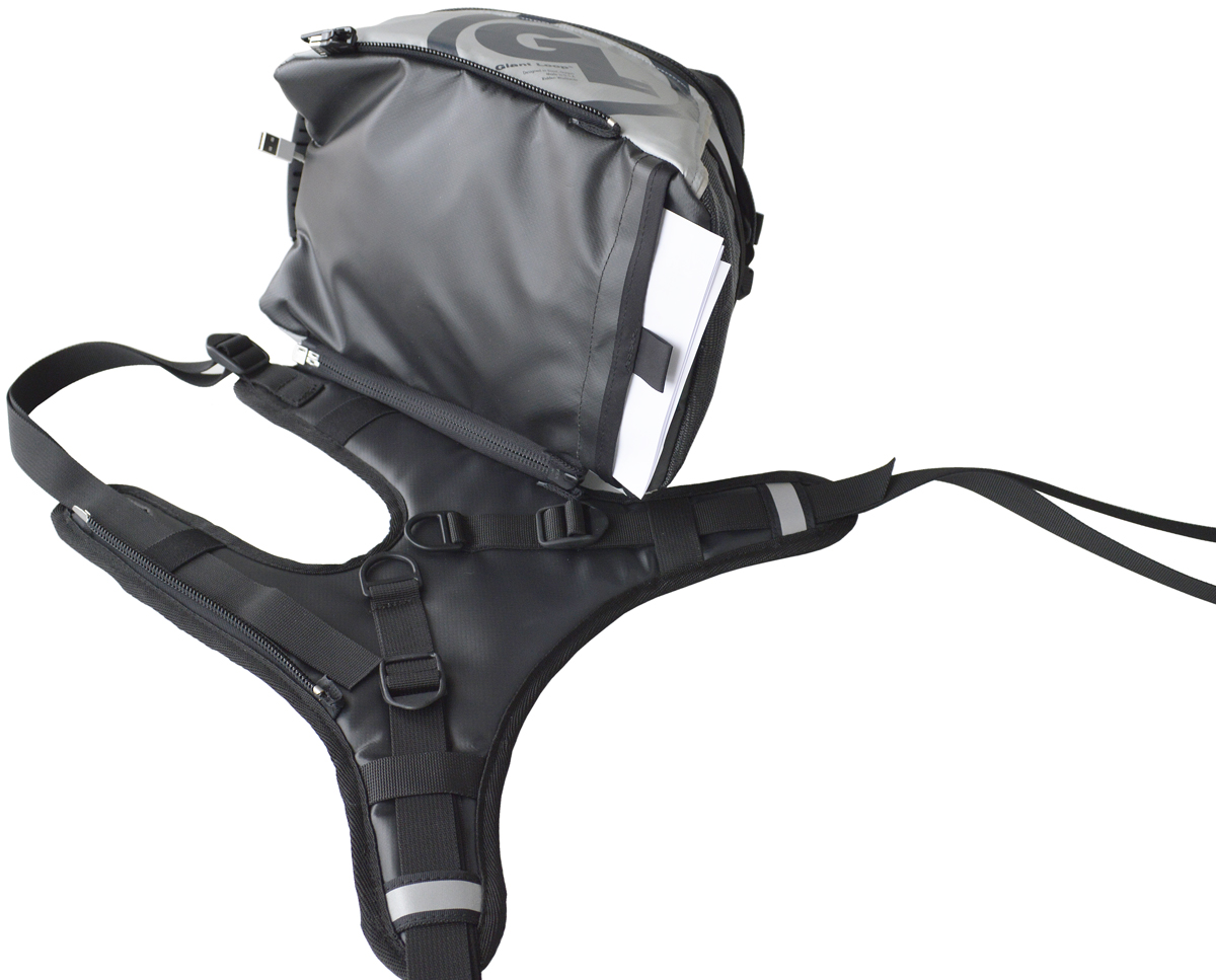 GiantLoop FANDANGO Motorcycle Tank Bag PRO Review.