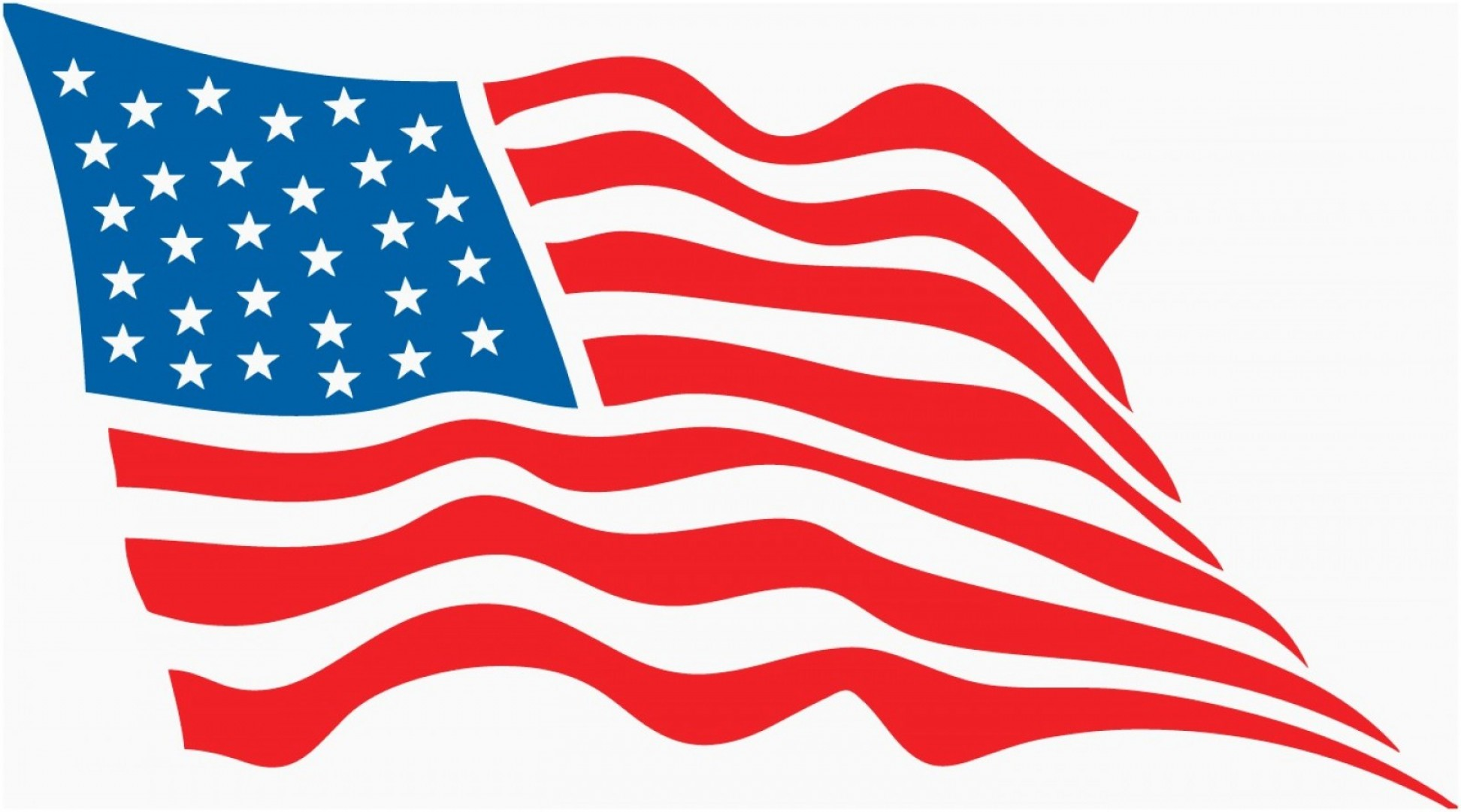 American Flag Clipart Vector Elegant Usa Flag Vector Clipart Best.