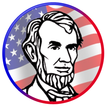 Us History clipart lincoln.