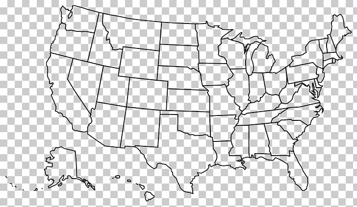 United States Blank map U.S. state , USA PNG clipart.