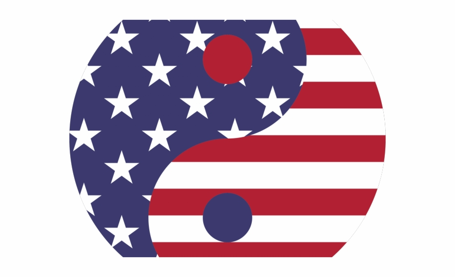 Illusion Clipart American Flag.