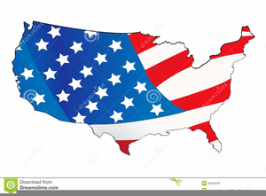 Free Clipart Map Usa.