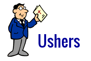 Usher clipart » Clipart Station.