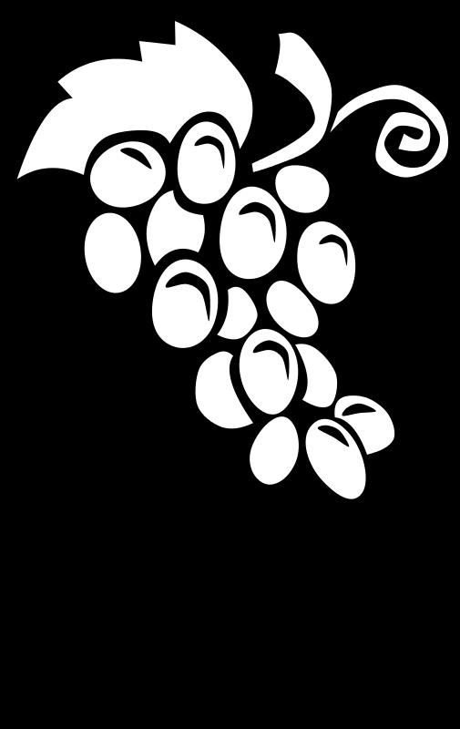 Free Clipart: Letra U de uvas.
