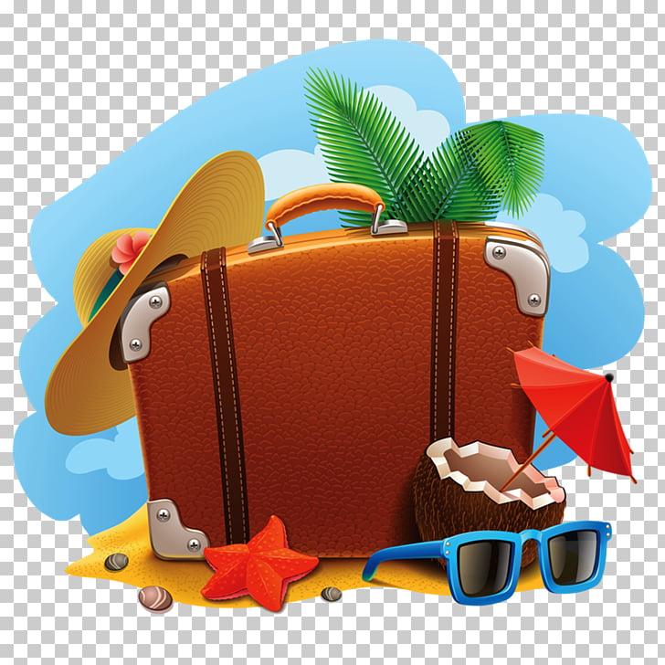 Vacaciones maleta de viaje, vacaciones PNG Clipart.