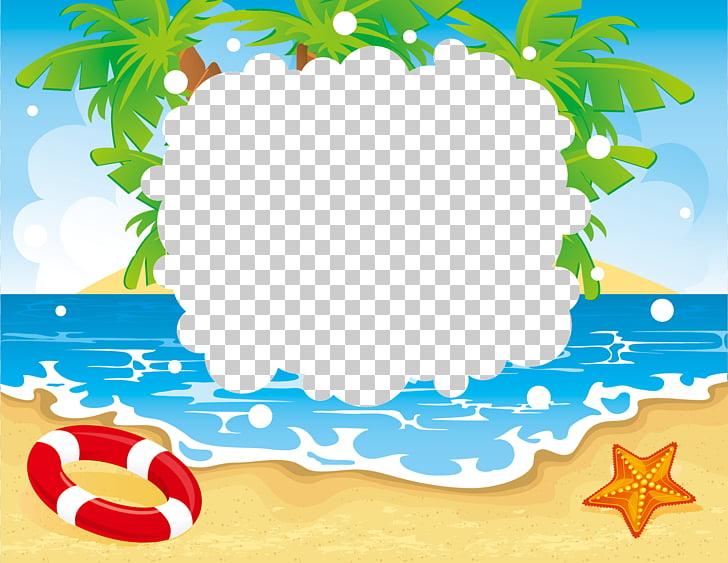 Playa balneario vacaciones verano vacaciones verano PNG.