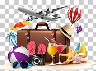 Cartel de vacaciones PNG cliparts descarga gratuita.