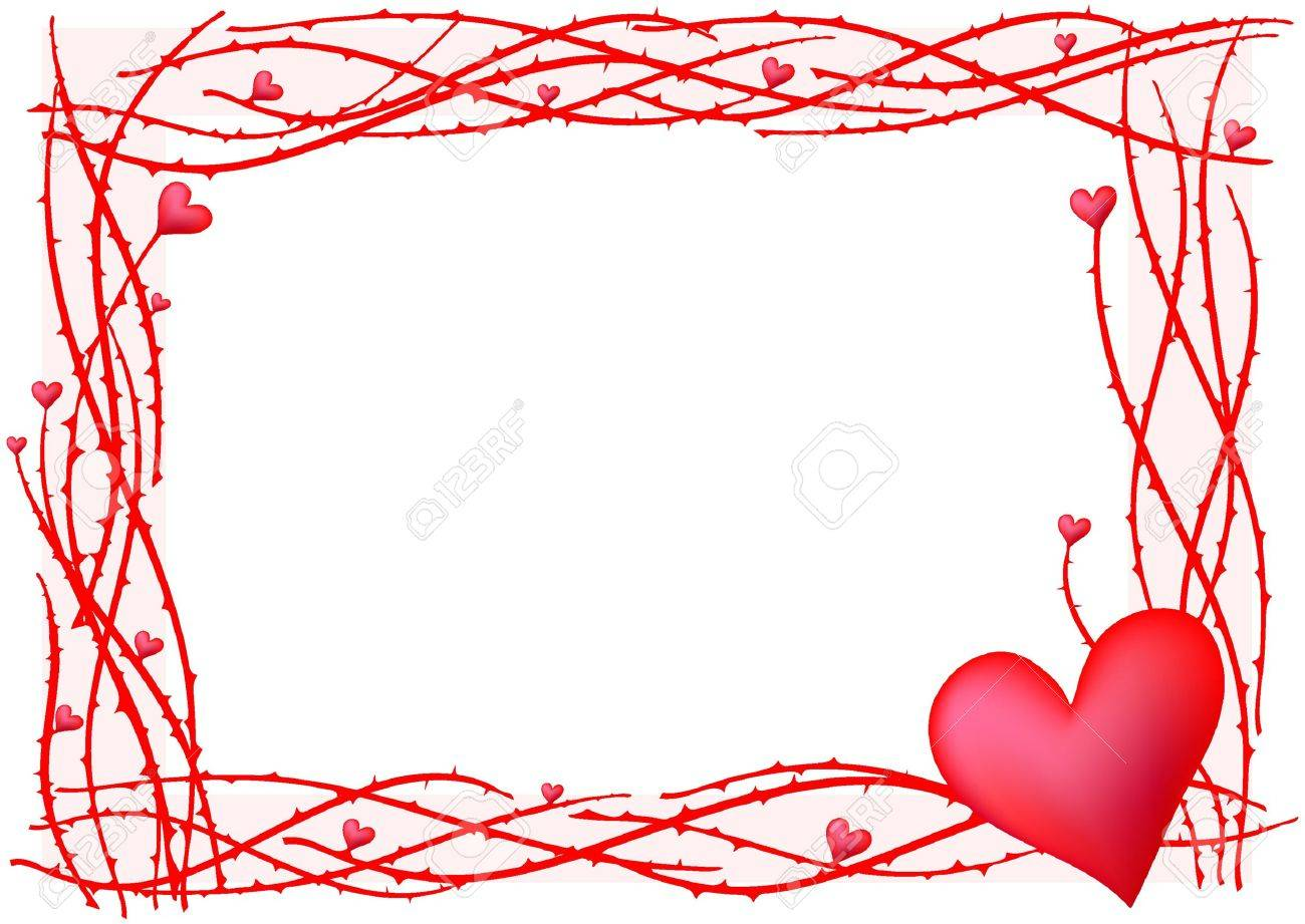 Valentine Frame Clipart.