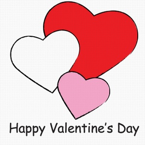 Hearts Valentines Day Clipart.