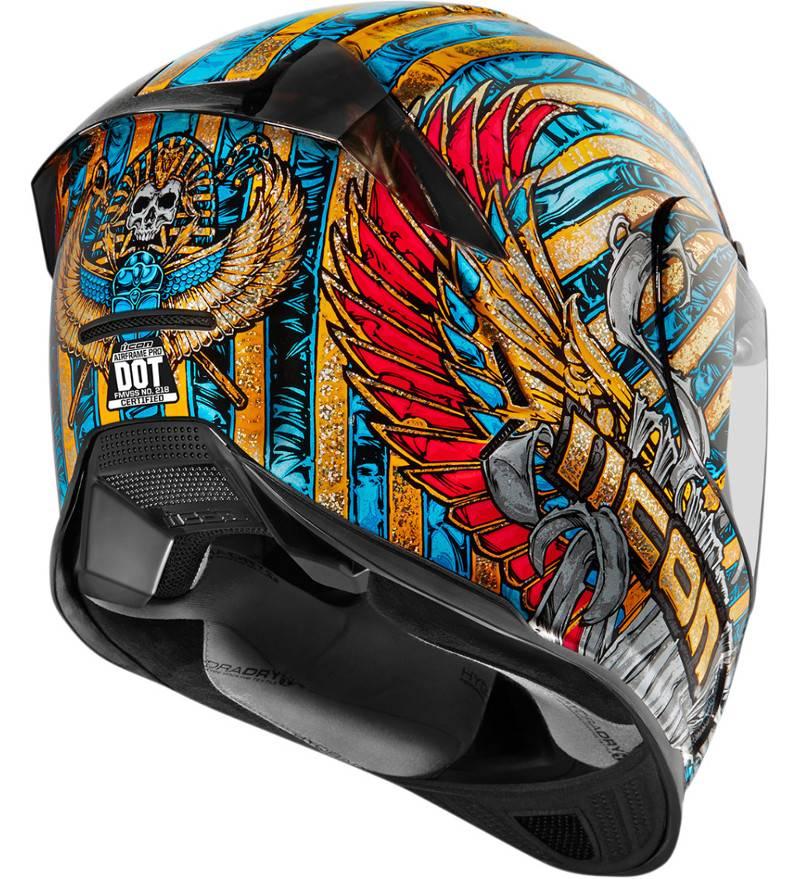 Icon Airframe Pro Pharaoh Helmet.