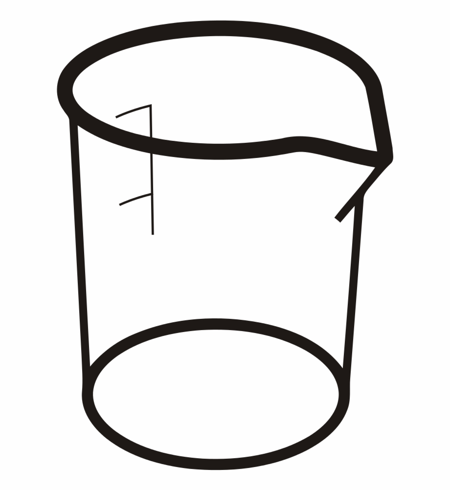 File Beaker Svg Vaso De Beaker Dibujos.