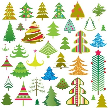 Christmas tree vector free vector download (10,722 Free.