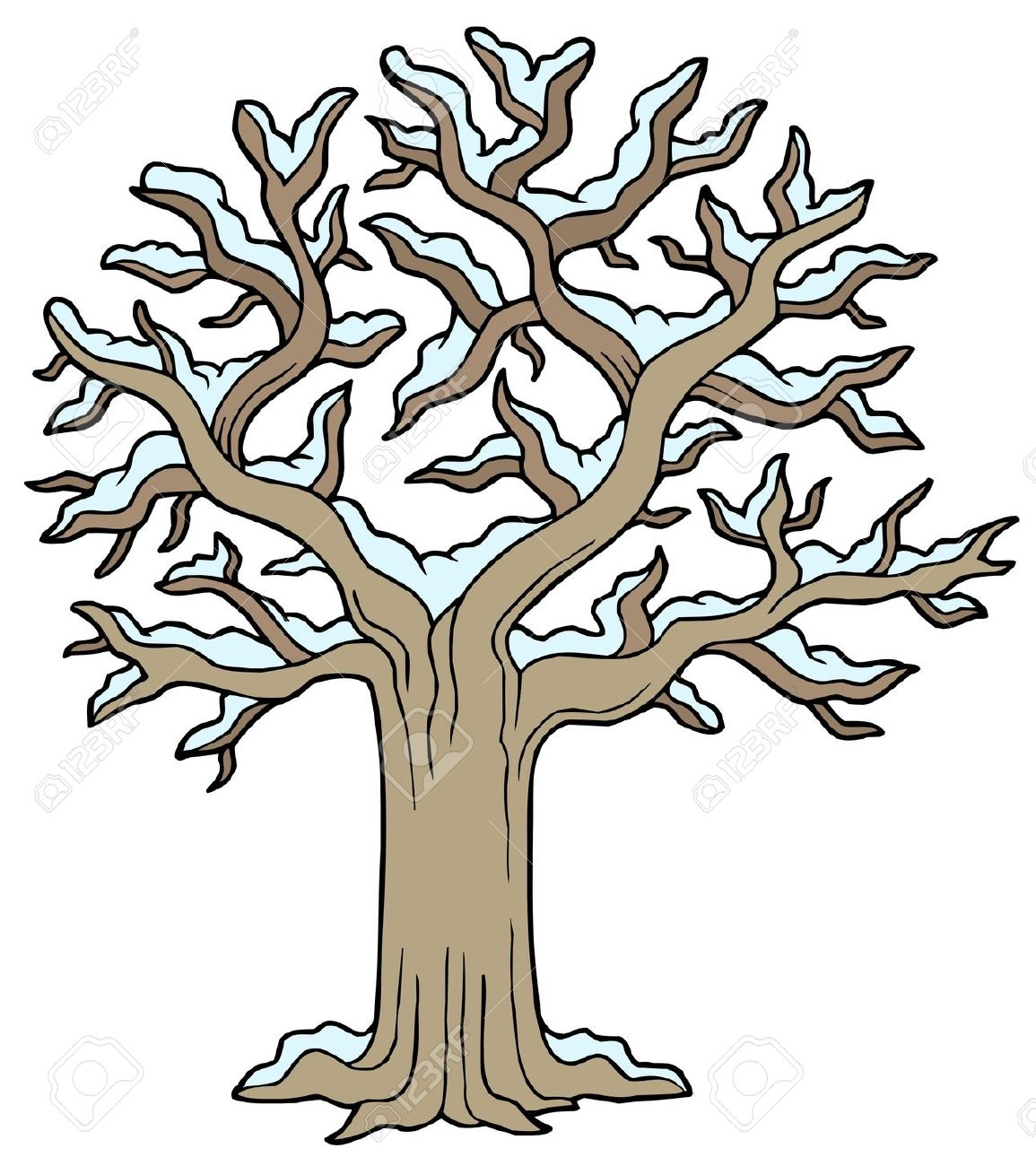 Similiar Winter Tree Cartoon Keywords.
