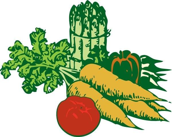 Vegetables clip art Free vector in Open office drawing svg ( .svg.