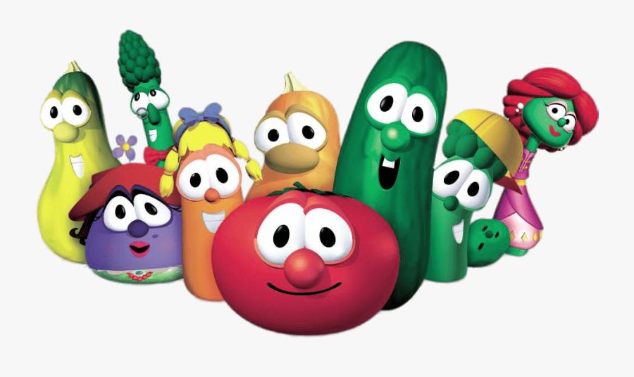 Veggietales Characters.