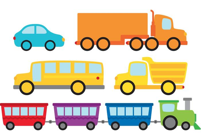 Vehicles Vector Pack.