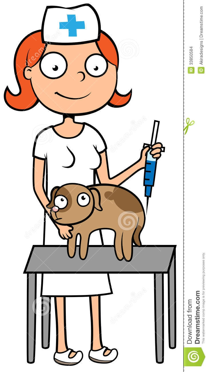 Veterinary Nurse Clipart.