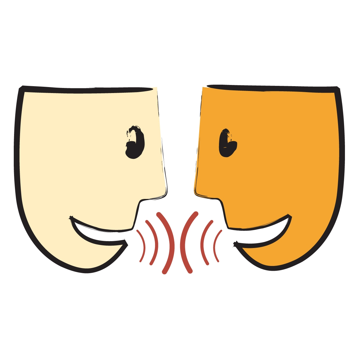 Verbal Communication Clipart.