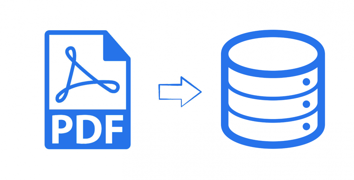 How to Convert PDF to Database Records (MySQL, PostGres.