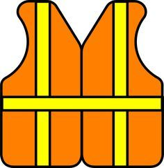 Construction Vest clip art.