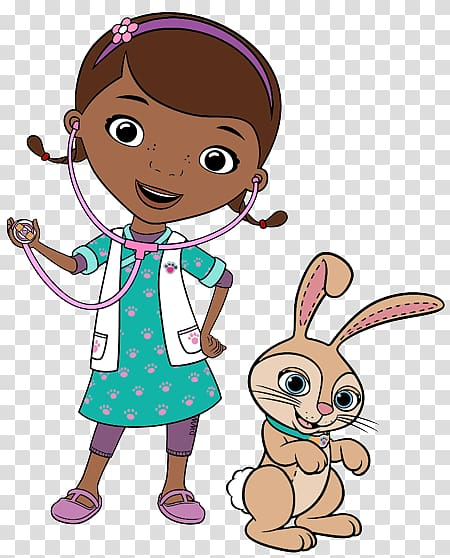 Doc McStuffins Pet Vet Hallie Anna Veterinarian , Rabbit Vet.