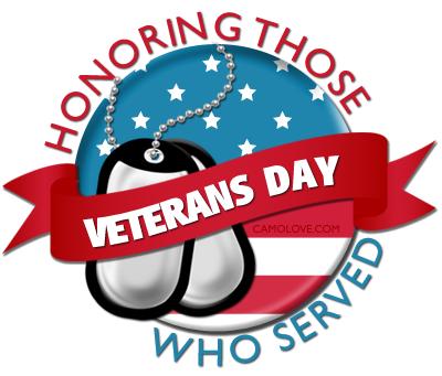 Happy Veterans Day Clipart.