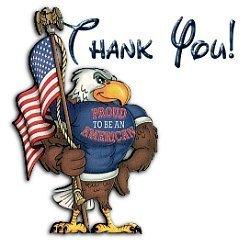 Free patriotic clipart veterans day.
