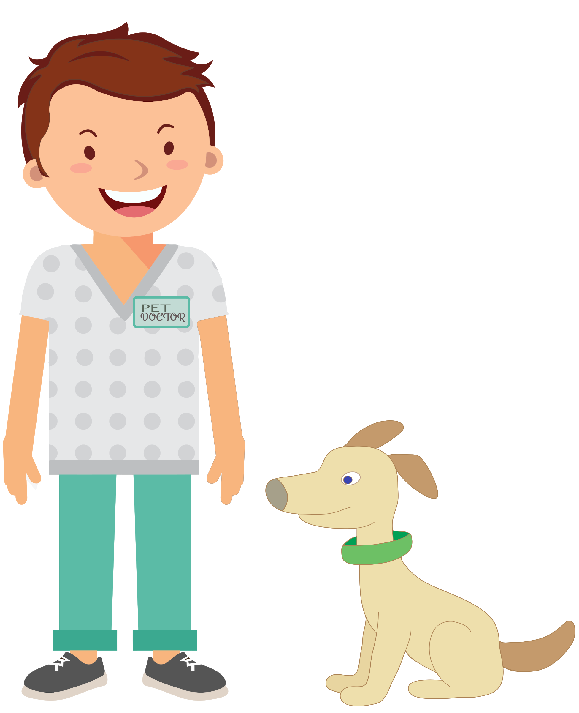 Veterinarian clipart male veterinarian, Veterinarian male.