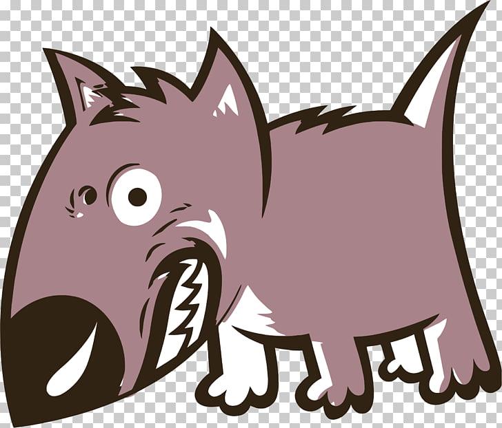 Bulldog Cartoon Growling Bark , Vicious Cartoon s PNG.